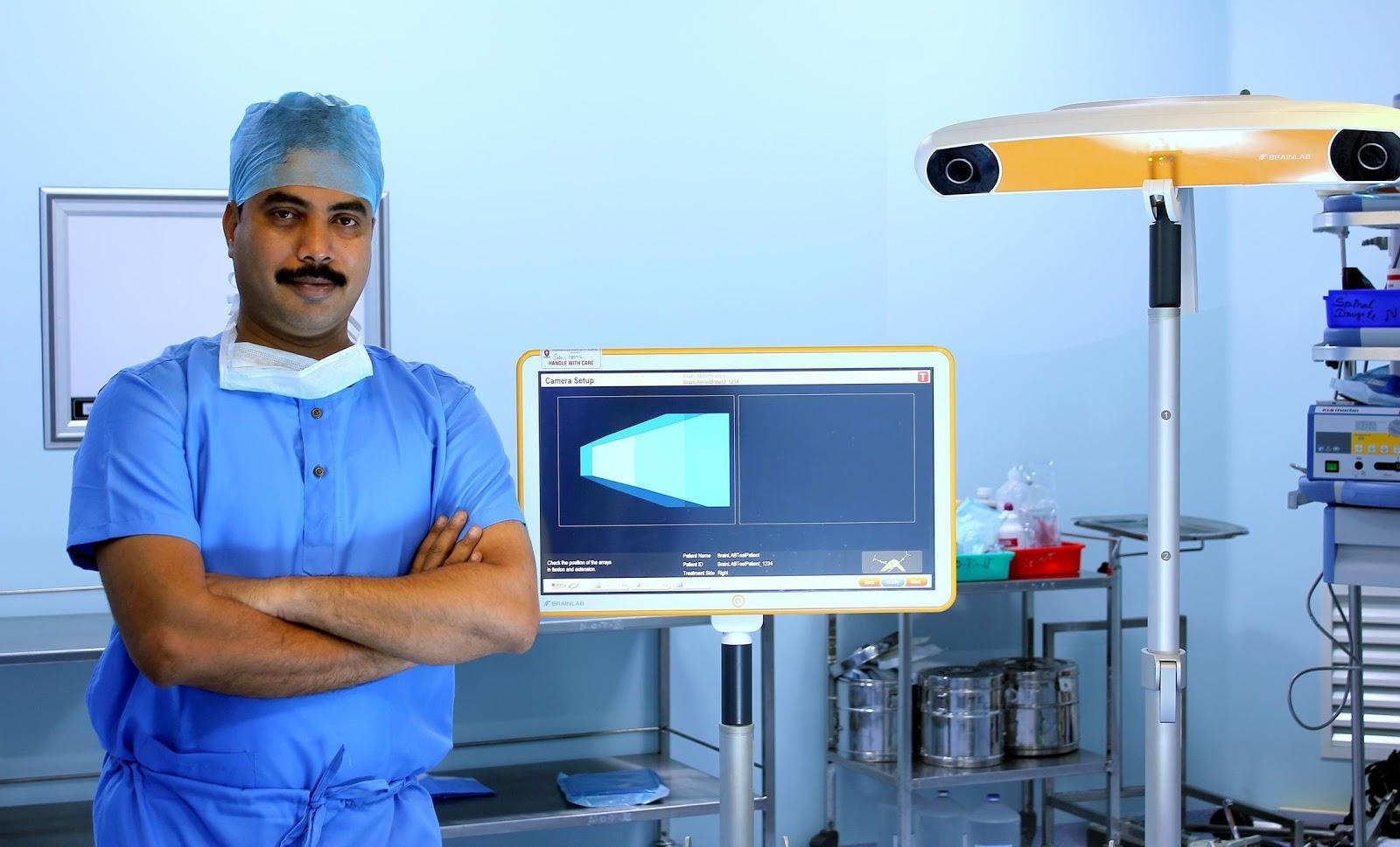 DR  RAJ KANNA - BEST KNEE SURGEON IN INDIA
